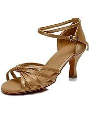 VASHCAME-Standaard/Ballroom/Moderne/Latin Dansschoenen Competitie Partij Salsa Latijnse Sandalen voor dames