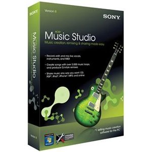 Sony ACID Music Studio Software product image