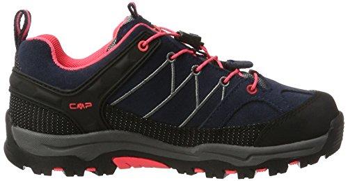 Cmp Unisex-voksne Rigel Lave Trekking & Vandresko Halvt Grå (antracit-rød Fluo 95bd) XAHJh