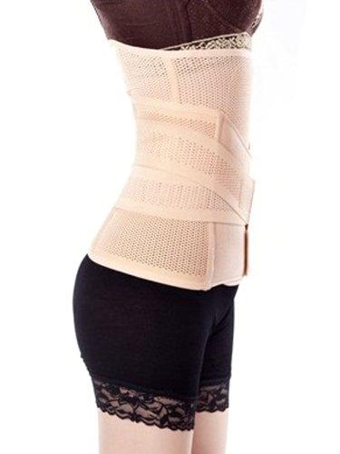 Belly respirant élastique abdominale Binder taille Trimmer Récupération post-partum abdomen de taille amincissant Shaper de ceinture d'enveloppe de bande