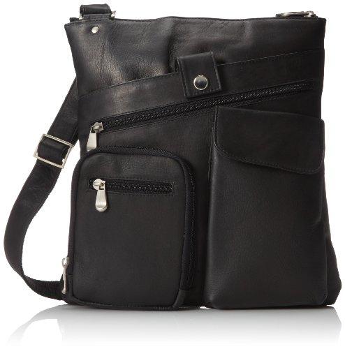 david-king-co-multi-pocket-cross-bag-black-one-size