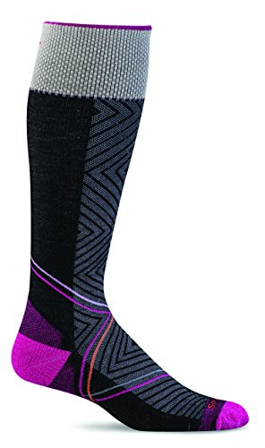 Sockwell Womens Firm Pulse Compression Socks (Black, M/L)