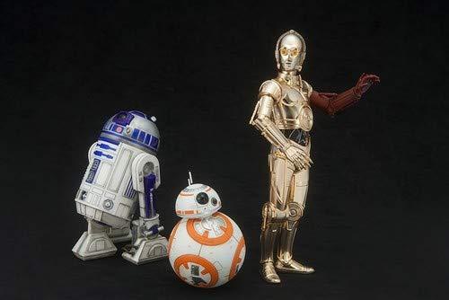 - Kotobukiya Star Wars Episode 7 The Force Awakens C-3PO & R2-D2 with BB-8 ArtFX+ Statue