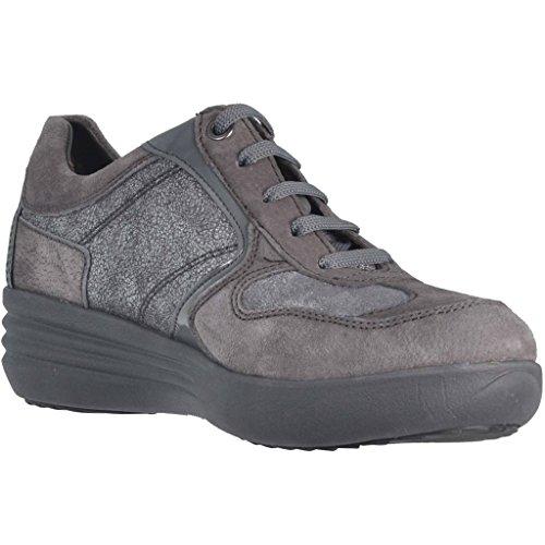 Grigio Comfort Shoes Zeppetta 105305 Stonefly Gray Sneaker Laces Women w0w8qSt