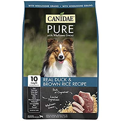 CANIDAE Pure Real Duck & Brown Rice Recipe Dry Dog Food