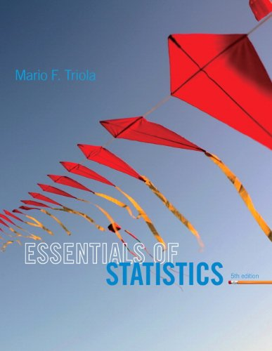 Essentials of Statistics (5th Edition) cover