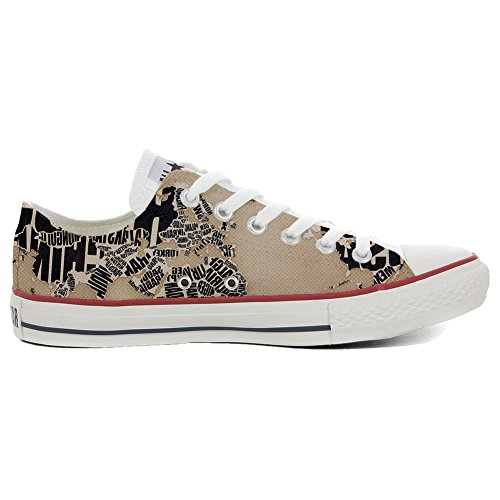 Converse All Star personalisierte Schuhe - HANDMADE SHOES - globus
