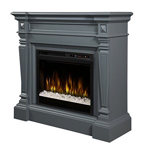 Cheap DIMPLEX Heather Electric Fireplace One Size Wedgewood Grey Black Friday & Cyber Monday 2019