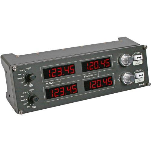 "Saitek - Pro Flight Radio Panel ""Product Category: Pc/Pc Flight Sticks"""