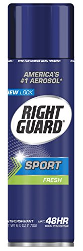 Dial 2093347 Right Guard Sport Fresh Aerosol Anti-Perspirant, 6oz Can Pack of 12