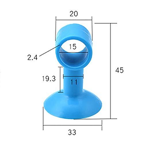 Xuxuou 5 Pieza Protector Puerta Sucker Silicone Manija Puerta Almohadilla Protectora Despu/és de Crash Pad
