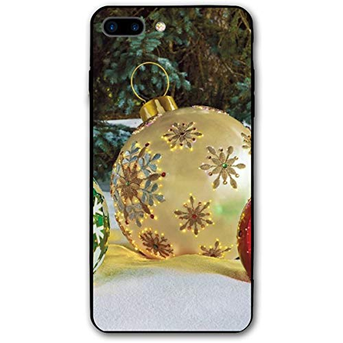Massive Fiber-Optic LED iPhone 7plus 8plus 7/8 Plus Phone Case Cover Theme Decorative Mobile Accessories Ultra Thin Lightweight Shell Pattern Printed Ornament -