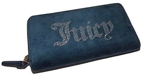 Juicy Zip Couture (Juicy Couture Women's Zip Around Credit Card Clutch Wallet Jade Green)