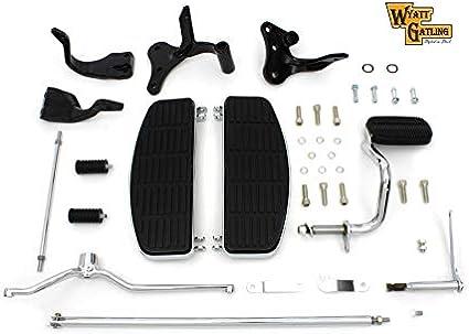 V-Twin 27-1670 Driver Adjustable Footboard Kit