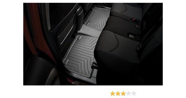 Grey 462652 WeatherTech Custom Fit Rear FloorLiner for Chevrolet Suburban