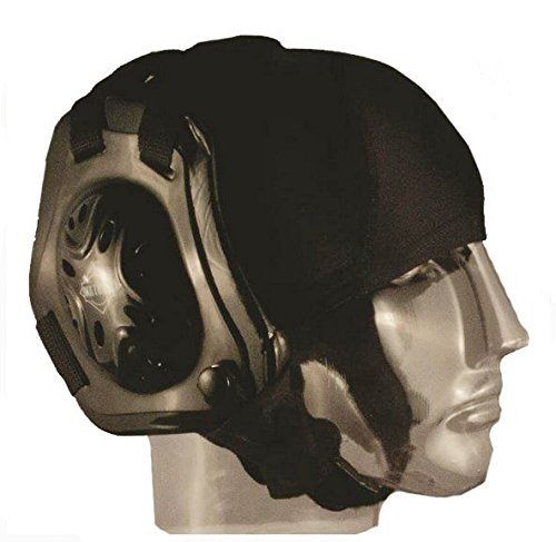 Matman Wrestling Hair Cap with Eyelets (Black)
