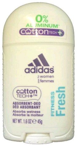Price comparison product image Adidas Cotton Tech Aluminium Free Deodorant, Fitness Fresh