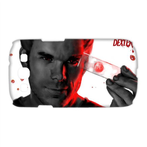 ies Protective Hard Back Plastic Case Cover for Samsung Galaxy S3 I9300 - 1 Pack - Dexter Morgan - 4 ()