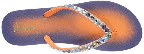 kamoa Psulani - Sandalias de dedo Mujer Azul