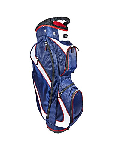 Club Champ Deluxe Cart Golf Bag Red/White/Blue