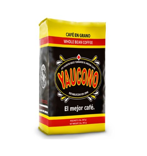 Cafe Yaucono Original Coffee Beans 2 pounds bag