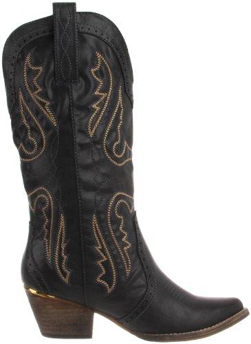 Very Volatile Women's Raspy Boot Black cvkqXLcXw