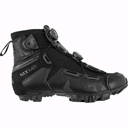 Lake MX145-X Cycling Shoe - Wide - Men's Black, 47.0