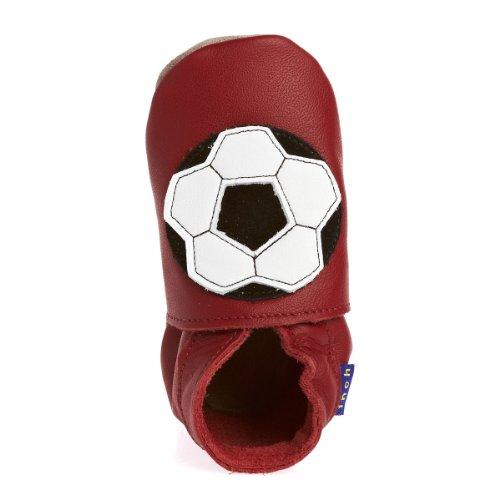Inch Blue Krabbelschuhe Football Shoe Red, Small
