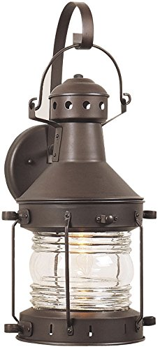 Nautical Lantern Outdoor Wall Light - 4