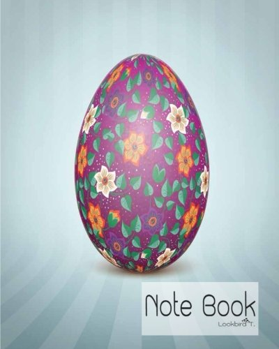 Notebook: The Easter egg with an Ukrainian folk pattern ornament : Notebook Journal Diary, 120 Lined pages, 8