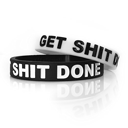Inspirational Rubber Band Bracelets Silicone Wristbands Custom Embossed With Motivational Saying