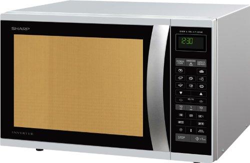 7 opinioni per Sharp R-971INW forno a microonde, 1050 W, 40 L, Argento