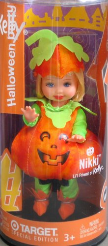 Barbie - Kelly - Halloween Party - NIKKI Doll as PUMPKIN - Target Special Edition 2003 -