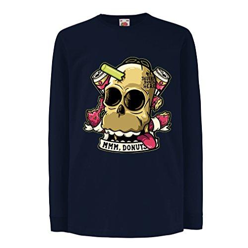 lepni.me T-Shirt for Kids Insert Brain Here (5-6 Years Blue Multi Color)]()