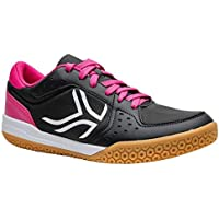 Artengo Women's Badminton Shoes BS730 - Grey Pink