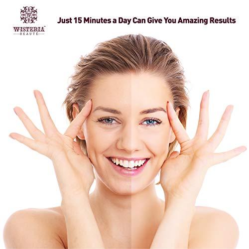 41Cbzm8EdBL - Wisteria Beaute Luxury 24k Gold Anti-Aging Eye Masks, Under Eye Patches/Under Eye Masks for Puffy Eyes & Under Eye Bags Treatment, Improves Elasticity (15 Pairs)