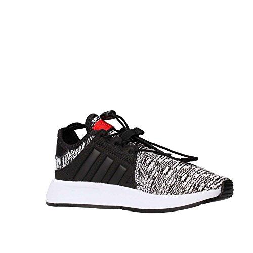 adidas X_PLR C, Zapatillas de Deporte Unisex Niños Negro (Negbas / Negbas / Rojo)