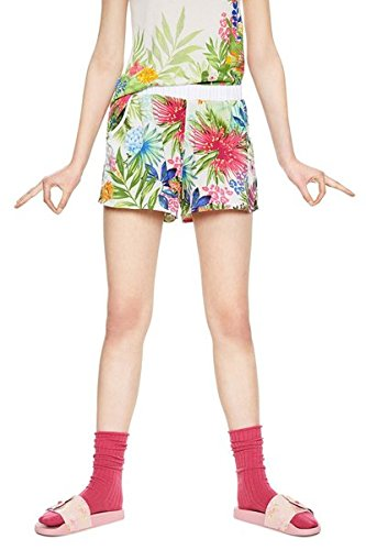 56165a012b1 Desigual 18SNPW015069 - Pyjama Pants - Psychotropical - Size S:  Amazon.co.uk: Clothing