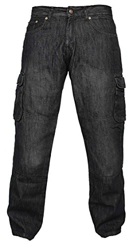 Newfacelook Denim Motorradhose Rustungen Motorrad Hose Arbeitshosen Jeans Fracht Verstärkt durch Aramid…