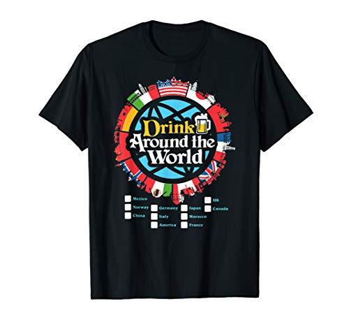 Adult Vacation Drinking Showcase T-Shirt