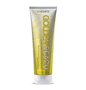 Hempz Golden Beach Tan Maximizer, Off White, Island Mango, 8.5 Fluid Ounce