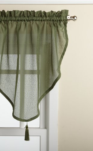 LORRAINE HOME FASHIONS Reverie Ascot Valance, 40