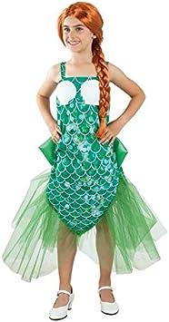 DISBACANAL Disfraz de Sirena para niña - -, 6 años: Amazon.es ...