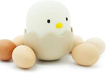 Lámpara de escritorio de cáscara de huevo suave Luz de noche Pollo ...