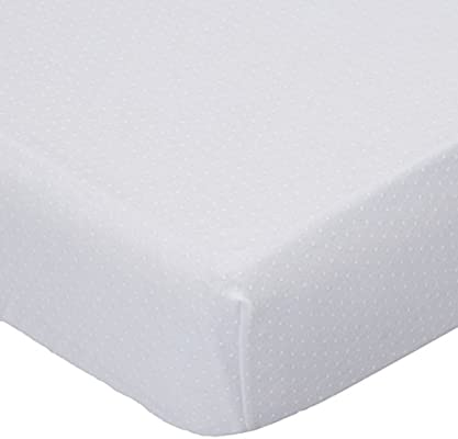 269946e2cbd Amazon.com   SheetWorld Fitted 100% Cotton Jersey Playard Sheet Fits BabyBjorn  Travel Crib Light