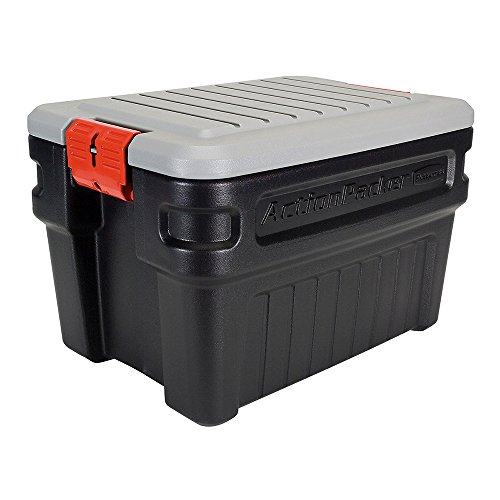 - Rubbermaid 1172 ActionPacker Storage Box, 24 Gallon