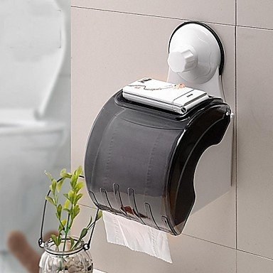 LI Powerful Sucker Toilet Roll Holder/Waterproof Toilet Paper Frame With Suction Cup Lina-bathroom accessories