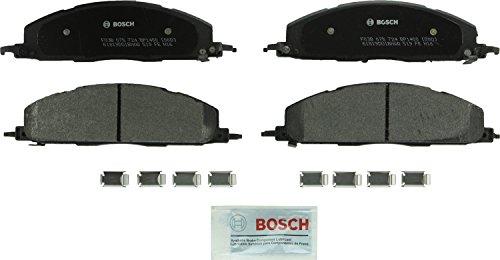 Bosch BP1400 QuietCast Premium Semi-Metallic Disc Brake Pad Set For Dodge: 2009-2010 Ram 2500, 2009-2010 Ram 3500; Ram: 2011-2017 2500, 2011-2017 3500; -