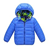 M&A Boys Lightweight Packable Hooded Puffer Jacket Winter Coat