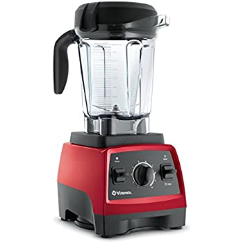 Vitamix 7500 Low-Profile Blender, Professional-Grade, Self-Cleaning 64 oz. Container, Red